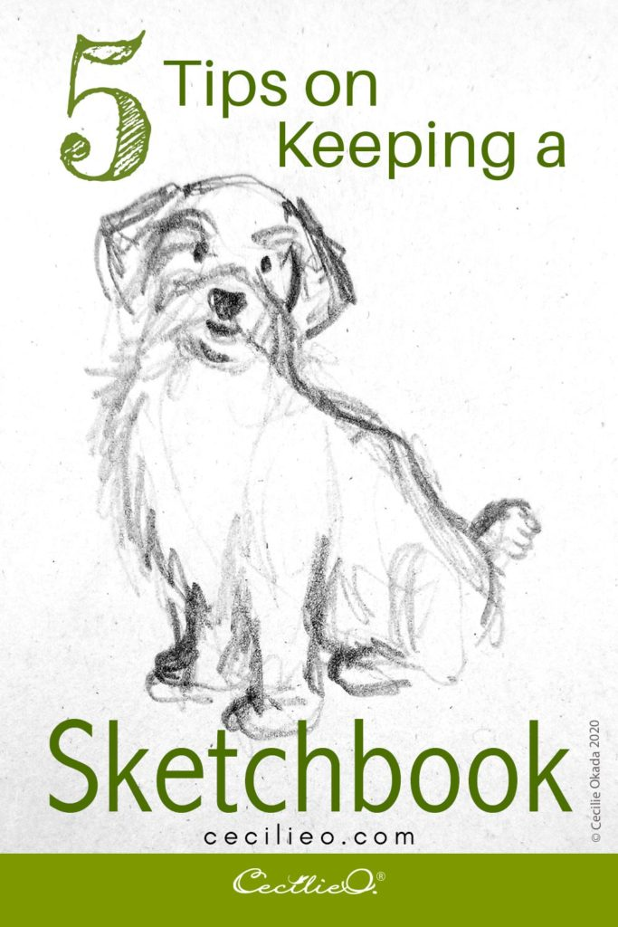 5 Quick Tips For Keeping a Daily Sketchbook