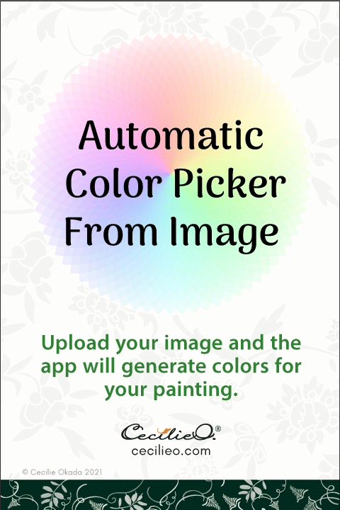 Automatic color picker from image