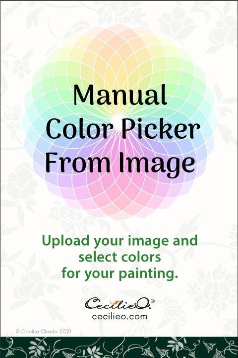 Manual color picker from image